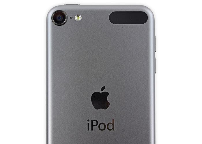 Parte trasera del iPod touch 6