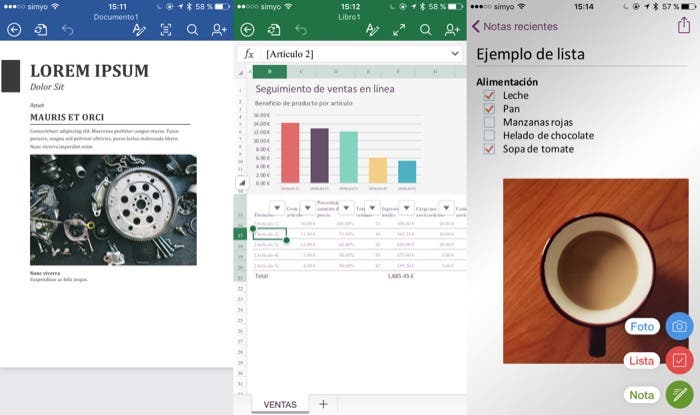 Office en iOS