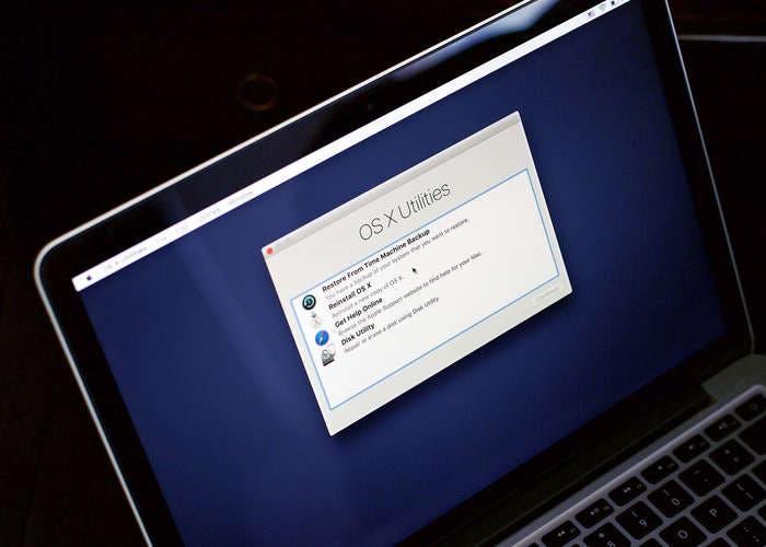 Hacer downgrade desde OS X El Capitan