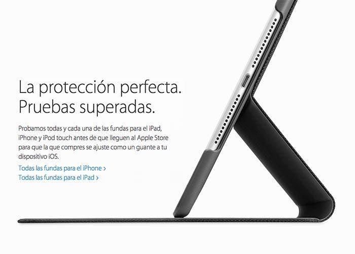 Nueva sección de fundas certificadas por Apple