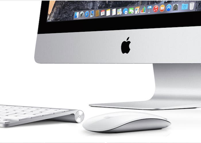 iMac con teclado y Magic Mouse