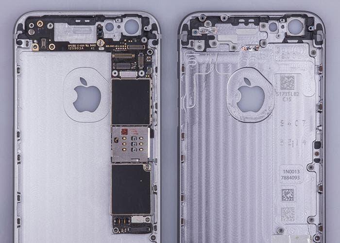 3a5f7a36a8c Qué hace tan pesado al iPhone 6s respecto al iPhone 6 cuando aparentemente  son iguales