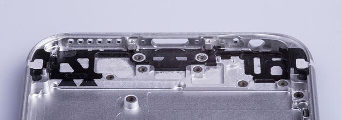 iPhone 6s estructura