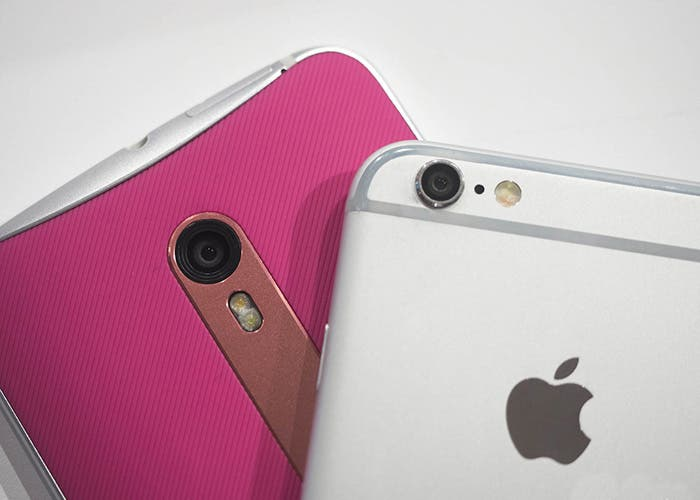 Comparativa Moto X Style y iPhone 6