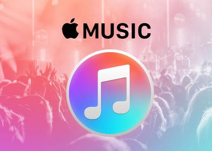 Logo del servicio de Apple Music
