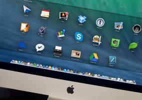 Escritorio ordenado OS X