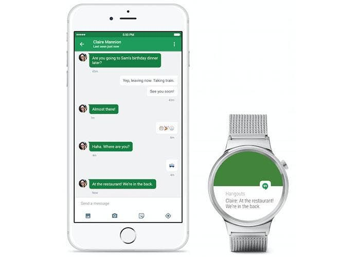 Android Wear, por fin compatible con iOS