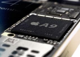Vista del procesador Apple A9
