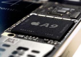 Vista del procesador Apple A9