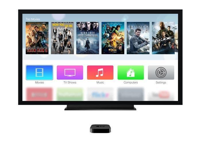Interfaz del nuevo Apple TV