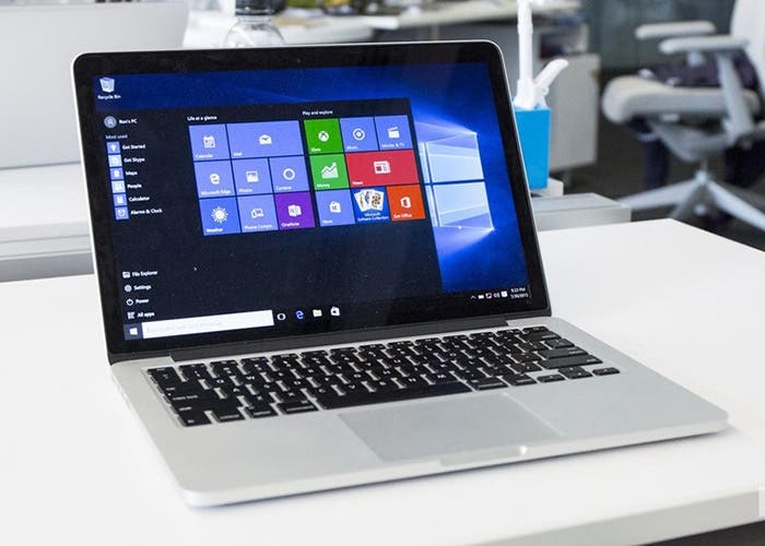 Windows 10 en un MacBook