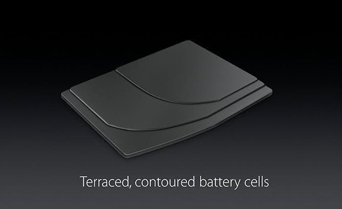 Batería en capas de Apple