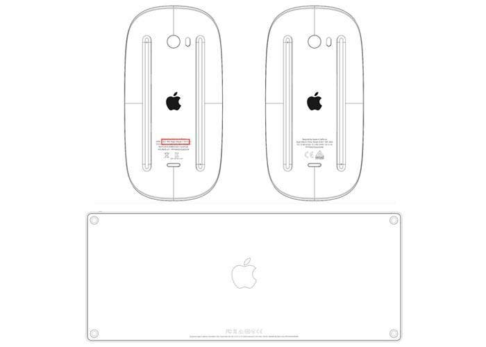 Esquemas de la FCC de los nuevos Apple Keyboard y Magic Mouse 2