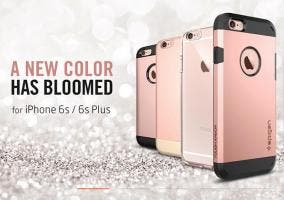 Fundas de Spigen para el iPhone 6s Rose Gold