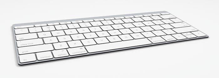 Vista general del nuevo Apple Keyboard