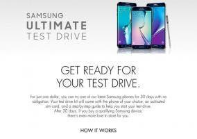 Programa de prueba de teléfonos de Samsung