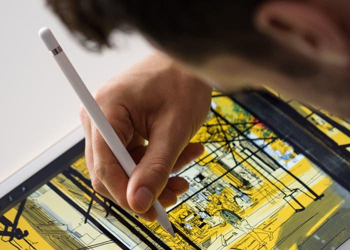 Apple Pencil en acción