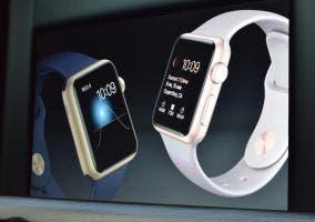 Apple Watch Sport dorado y oro rosa