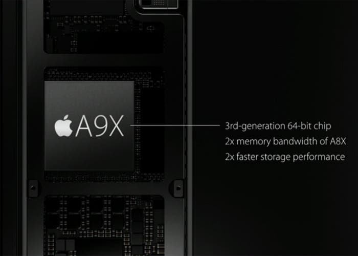Chip A9X iPad Pro