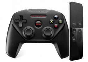 Apple TV Remote y mando de videojuegos de terceros
