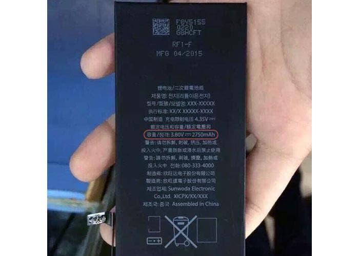 Batería del iPhone 6s Plus