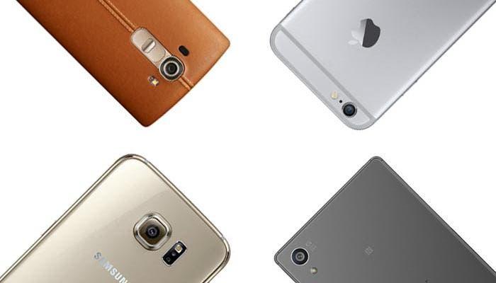 Comparativa de cámaras de mejores smartphones del mercado
