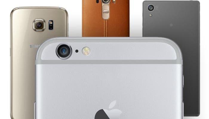 Comparativa de mejores smartphones del mercado