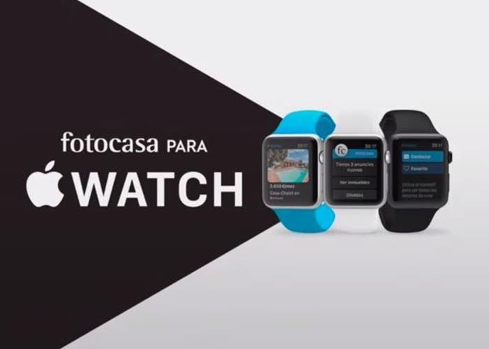 fotocasa para el Apple Watch