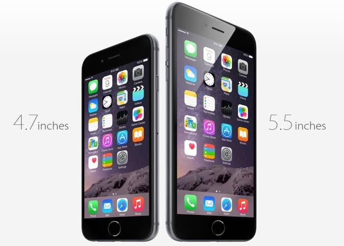 iPhone 6 y 6 Plus vs 6s y 6s Plus