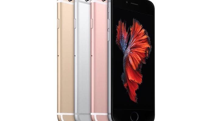 Versiones iPhone 6s