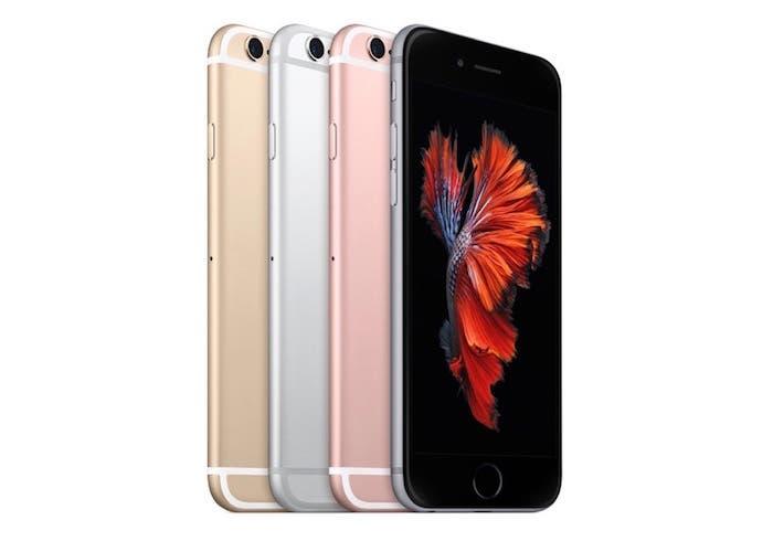 Versiones iPhone 6s