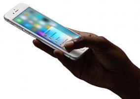 Función de 3D Touch en el iPhone 6s