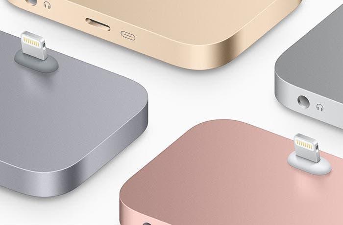 Nuevos dock de colores para el iPhone 6s