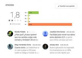 Opiniones de Move to iOS en Google Play