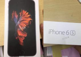 Packaging del iPhone 6s