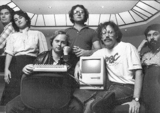 El equipo del Macintosh