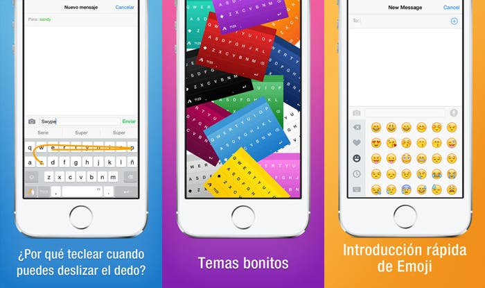 Swype iOS capturas