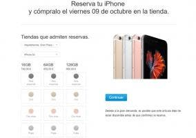 Reserva iPhone 6s