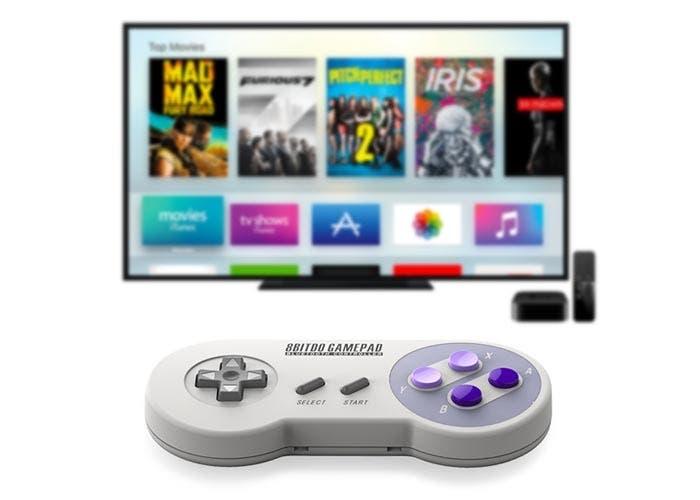 Gamepad retro para el Apple TV