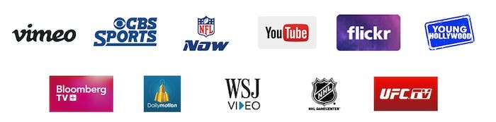 Apps de vídeo