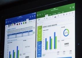 Office funcionando en el iPad Pro
