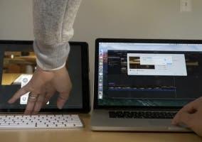 Exportando vídeo en un iPad Pro y un MacBook Pro