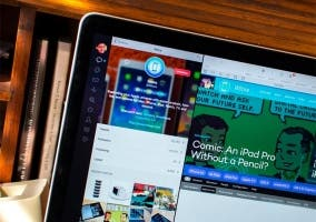 Modo a pantalla partida de Tweetbot en OS X El Capitan