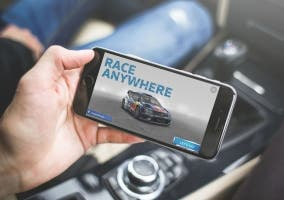 VW race anywhere iPhone
