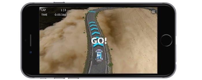 VW Race anywhere iOS