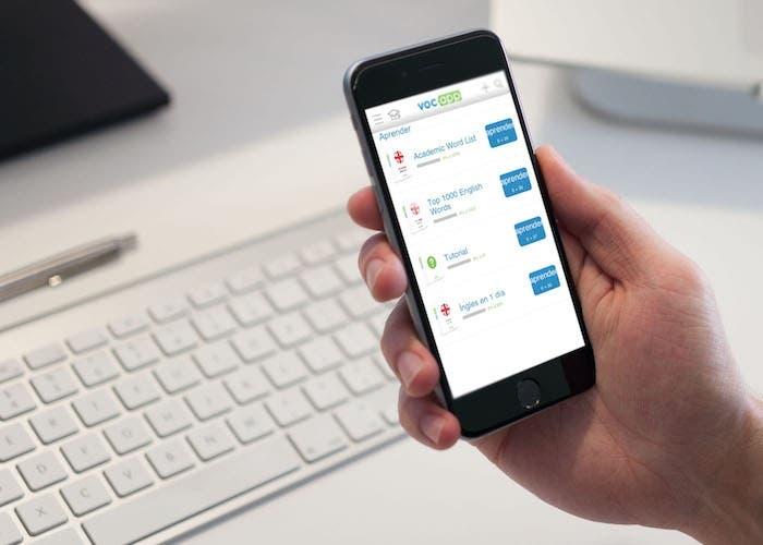 VocApp iPhone idiomas
