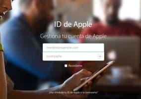 Nuevo diseño de la página principal de Apple ID