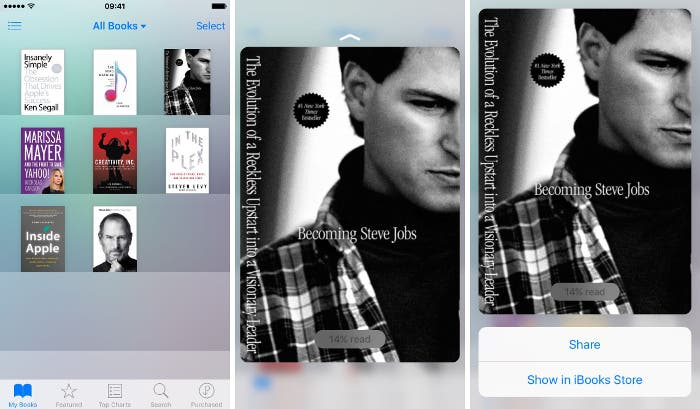 iBooks en iOS