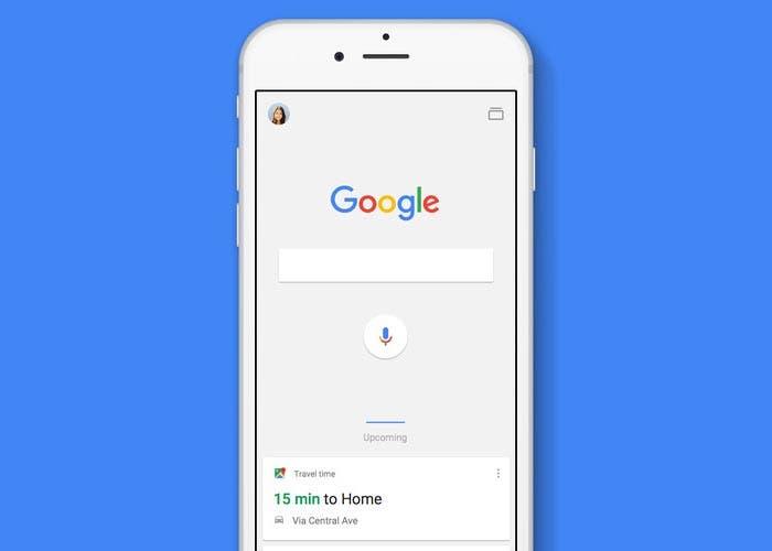 Buscador de Google en el iPhone
