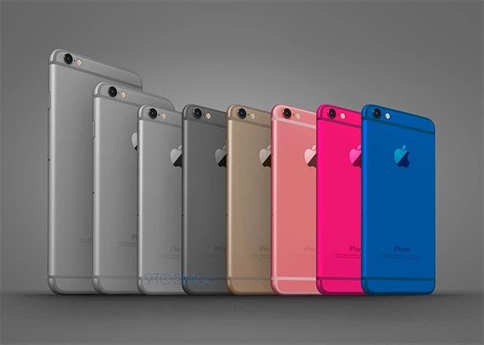 Colores del iPhone 5se